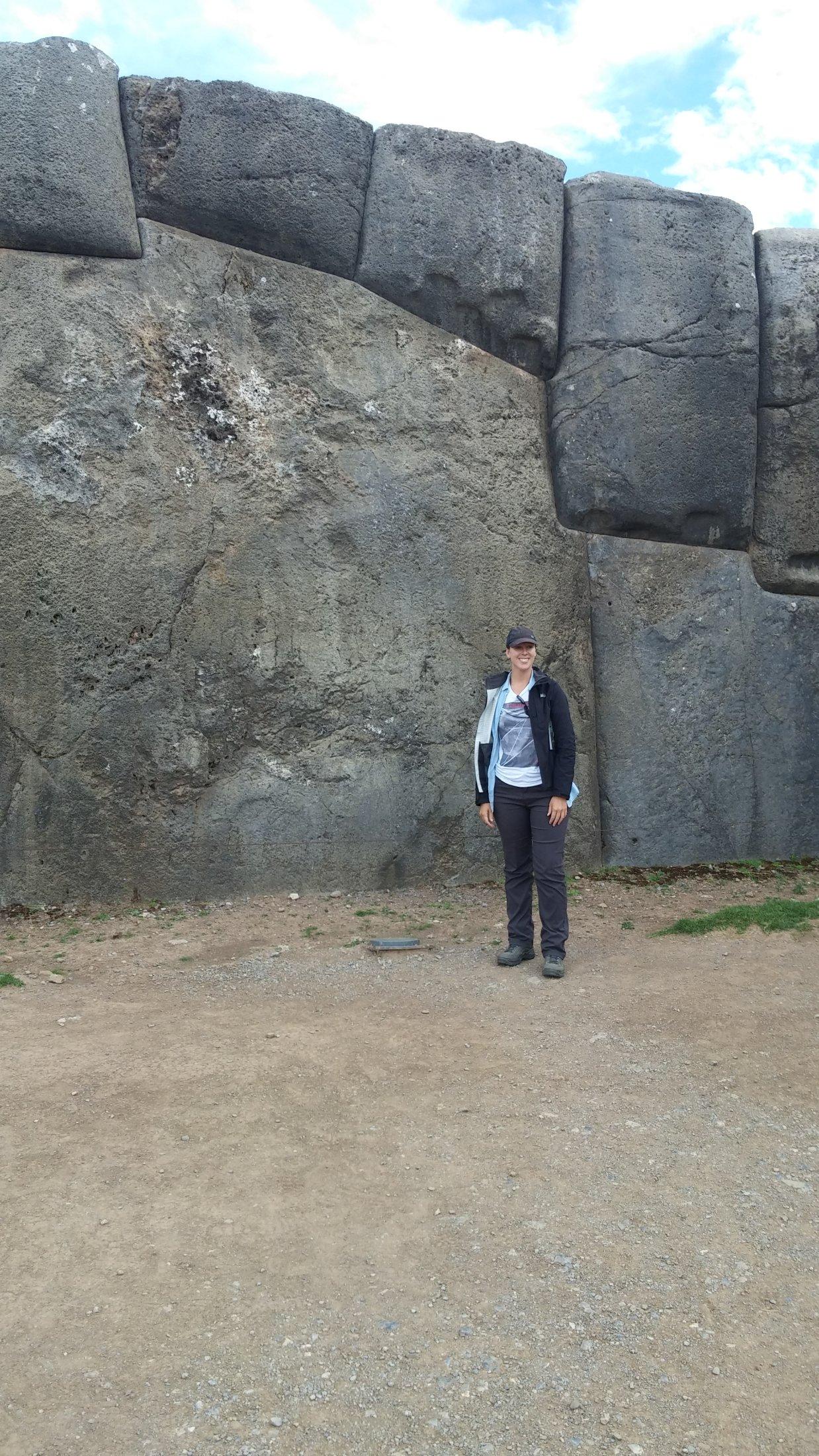 Giant Inca stone