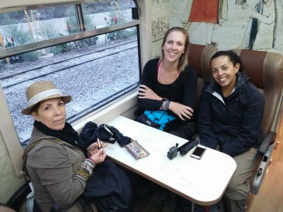 Early train to Machu Picchu