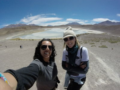 TwoGirls in Bolivia