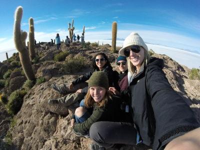 Cactus Island Selfie