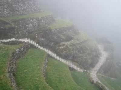 View of Phuyupatamarca Ruins