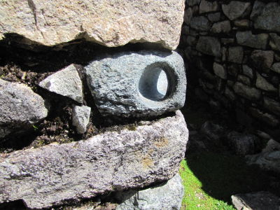 The Inka's used these for tying doors shut