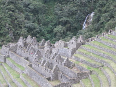 We loved Wiñay Wayna as much as Machu Picchu!