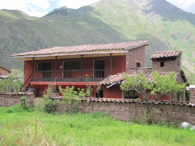Our temporary home in Sillacancha, Sacred Valley