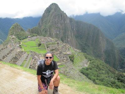 Jen at Machu Picchu