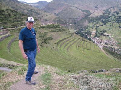 Bob at Pisac ruins