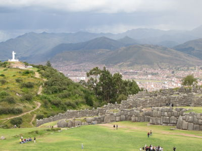 Saqsaywaman, Cristo Blanco and Cusco