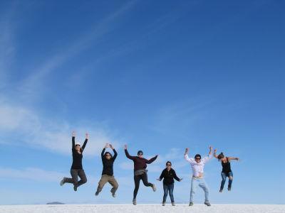 Salt Flats Jump