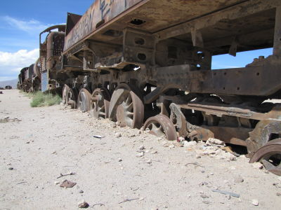 Sunken Train