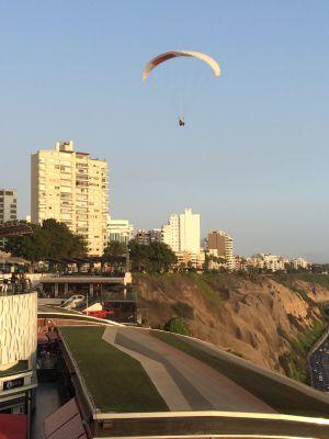 Coastal parasailer
