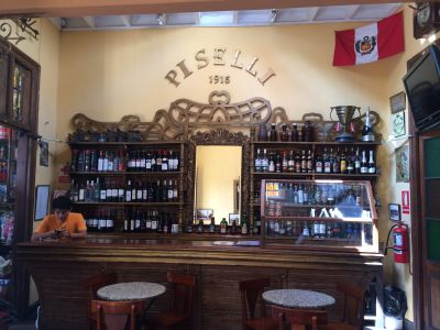 "Piselli - Oldest original ""bodega"" in Barranco neighborhood"