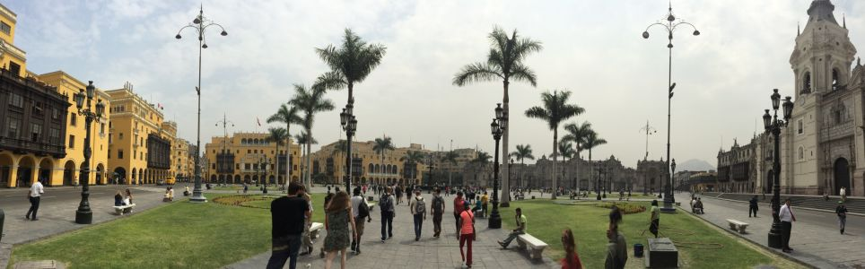 Plaza de Armas pano