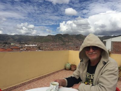 Bob and his coca tea