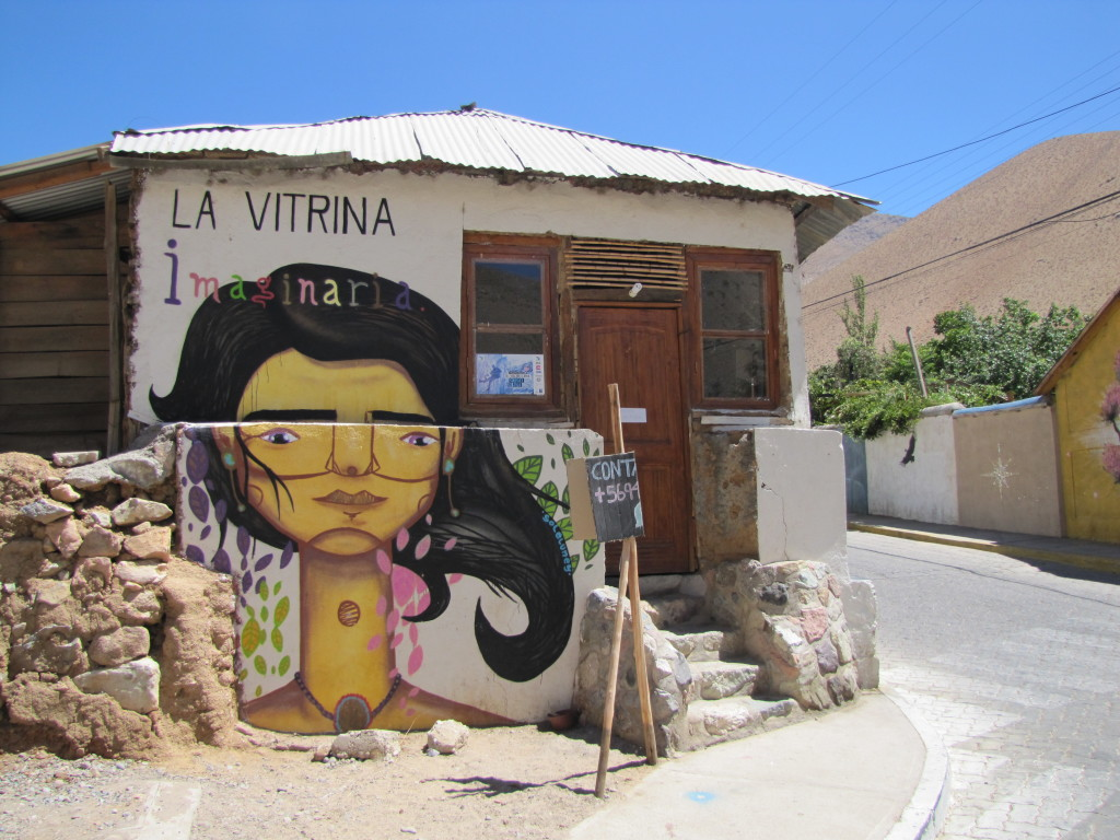 Pisco Elqui street art