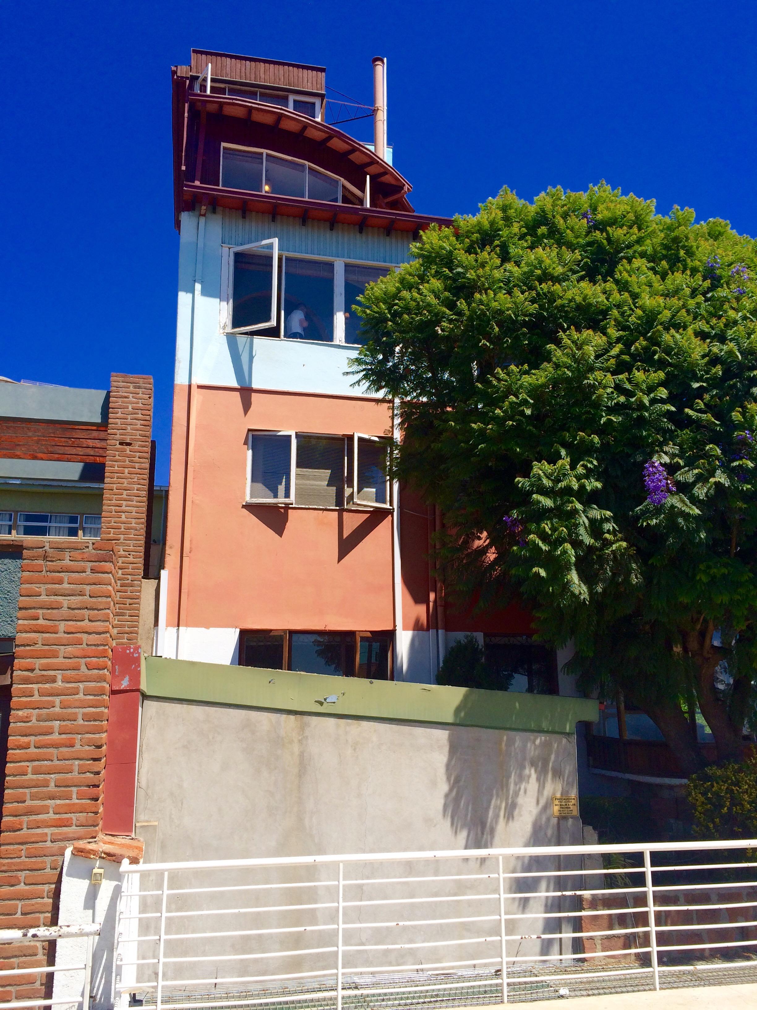 Pablo Neruda House Valparaíso
