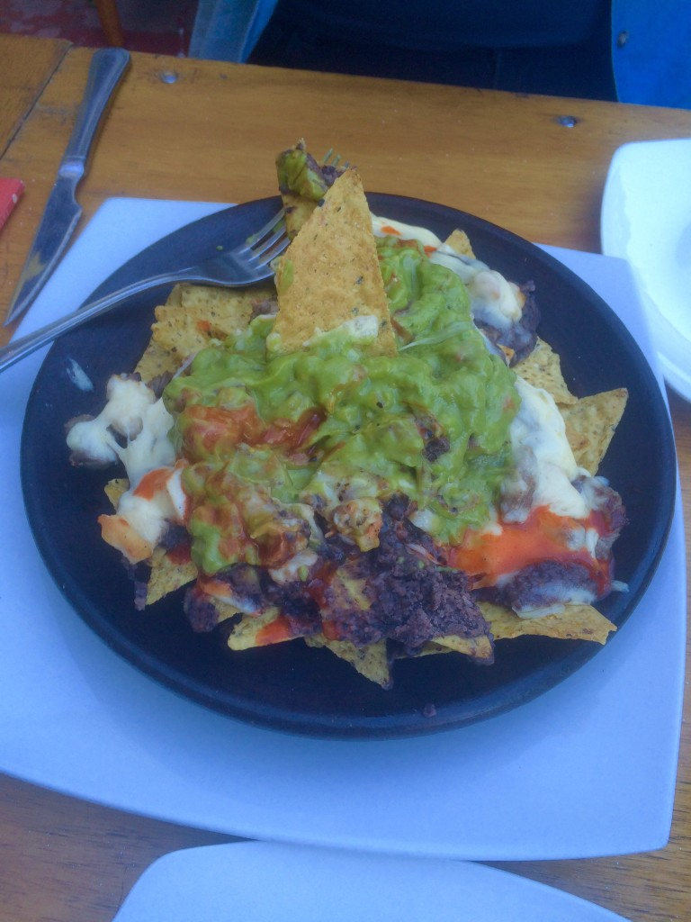 Nachos in Valparaiso, Chile