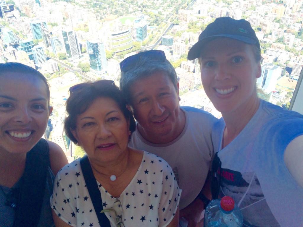 Jen, Carmen, Carlos and I