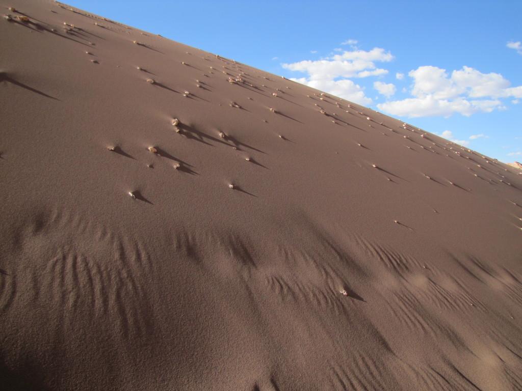 Valle de la Luna terrain
