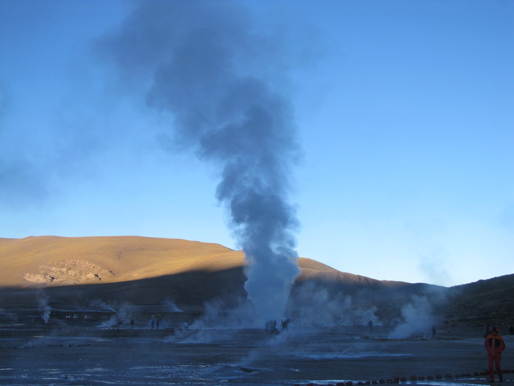 Giant sized geysers!