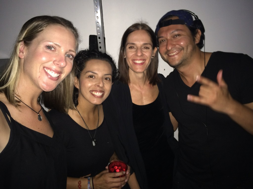 The black crew with Eugenia and David